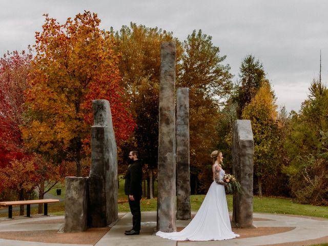 Kris and Rachelle's wedding in Kamloops, British Columbia 1