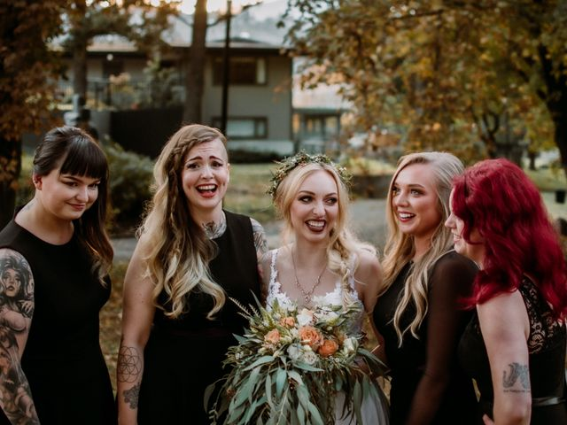 Kris and Rachelle's wedding in Kamloops, British Columbia 46