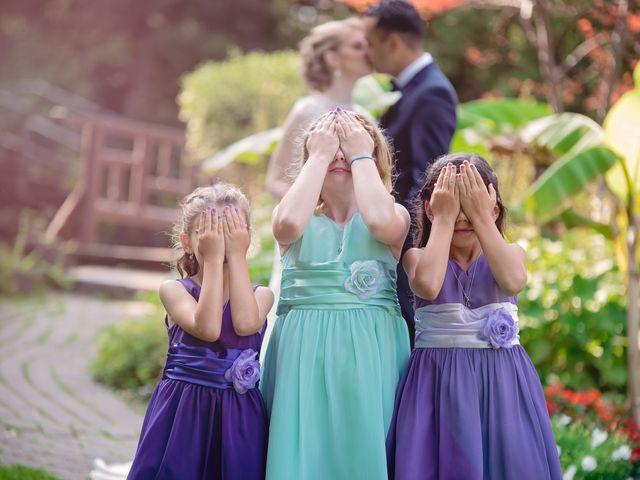Jason and Meredith's wedding in Etobicoke, Ontario 1