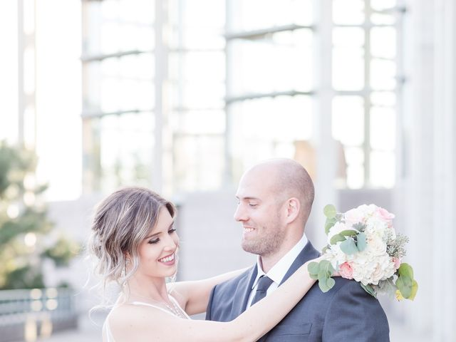 The wedding of Erin and Kyle