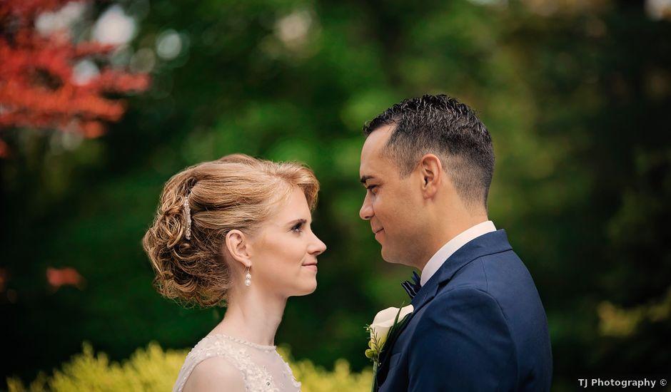 Jason and Meredith's wedding in Etobicoke, Ontario
