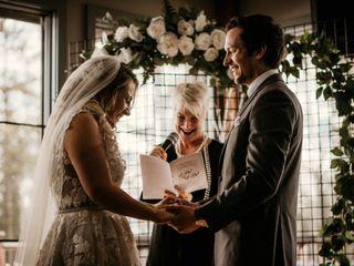 The wedding of Kalene and Jordan 1