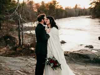 The wedding of Samantha and Michael