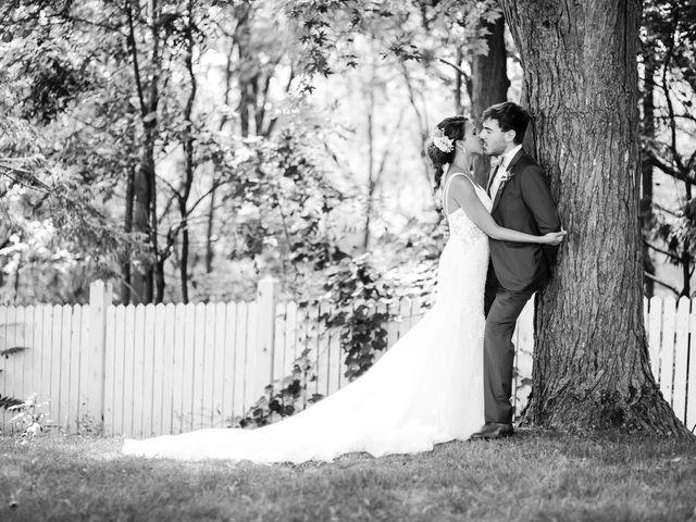 Josh and Anika's wedding in Kleinburg, Ontario 14