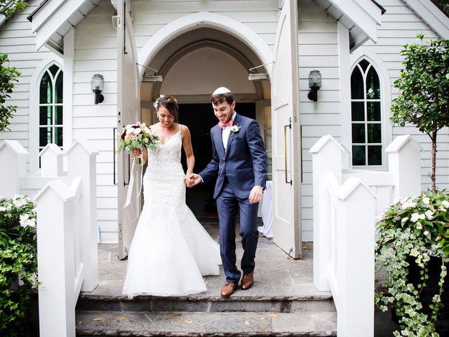 The wedding of Anika and Josh