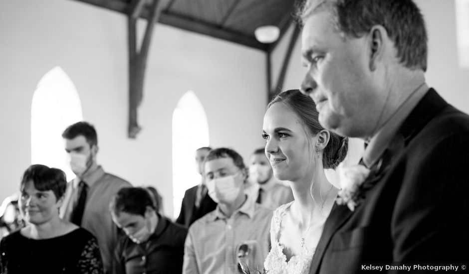 Ernst and Elaine's wedding in Campbellford, Ontario