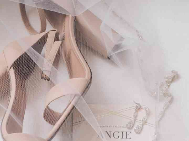 The wedding of Angie and Nick