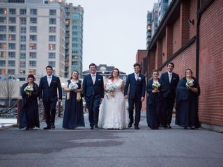 The wedding of Tiffany and Corey