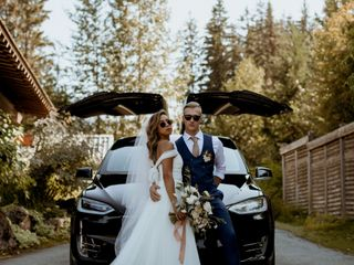 The wedding of Chelsea and James