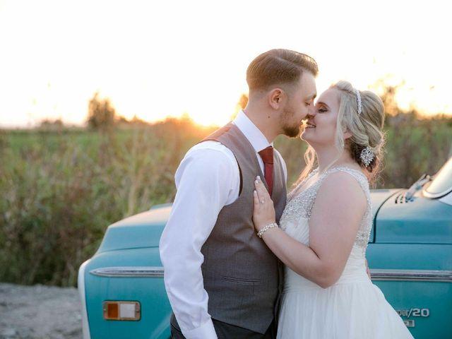 The wedding of Jennifer and Adam