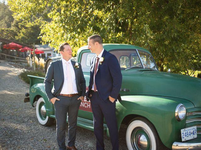 Jason and Shari's wedding in Okanagan Falls, British Columbia 14