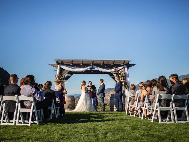 Jason and Shari's wedding in Okanagan Falls, British Columbia 27