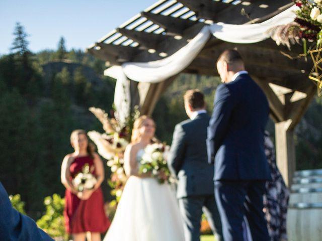 Jason and Shari's wedding in Okanagan Falls, British Columbia 28