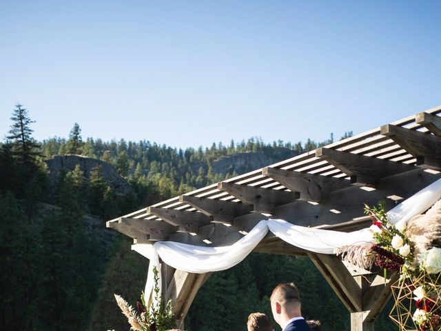 Jason and Shari's wedding in Okanagan Falls, British Columbia 32