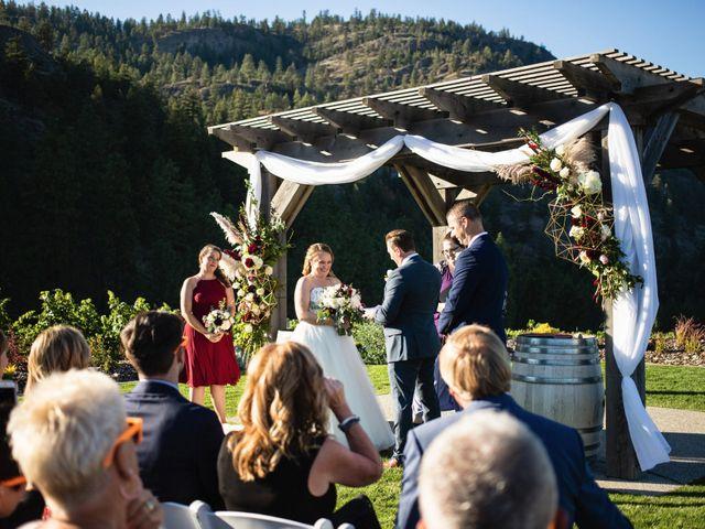 Jason and Shari's wedding in Okanagan Falls, British Columbia 33