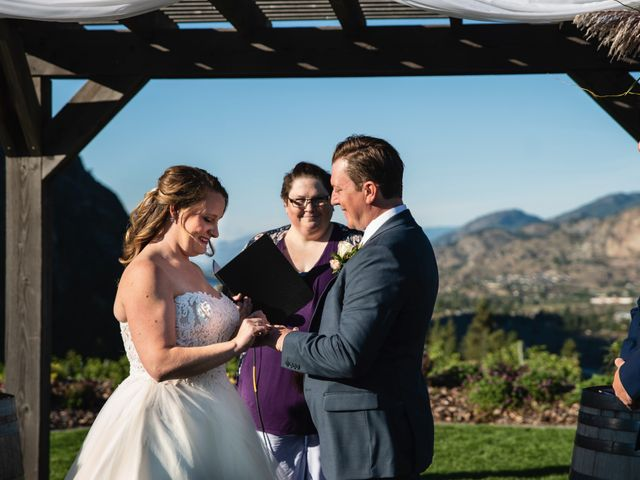 Jason and Shari's wedding in Okanagan Falls, British Columbia 37