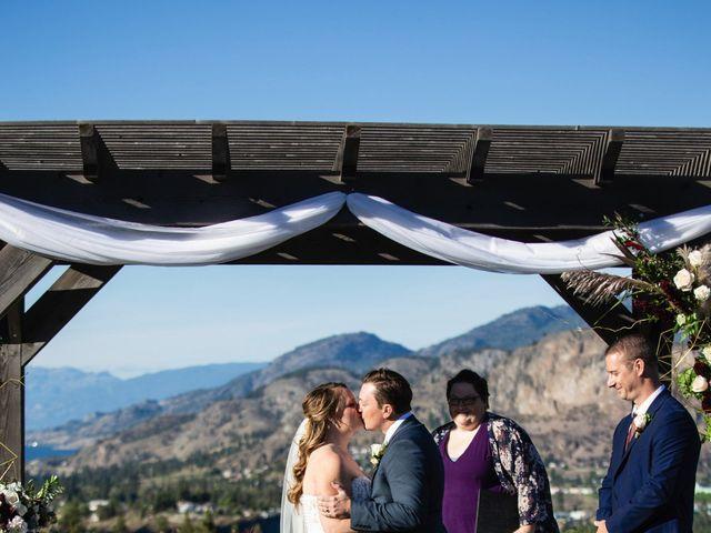 Jason and Shari's wedding in Okanagan Falls, British Columbia 40