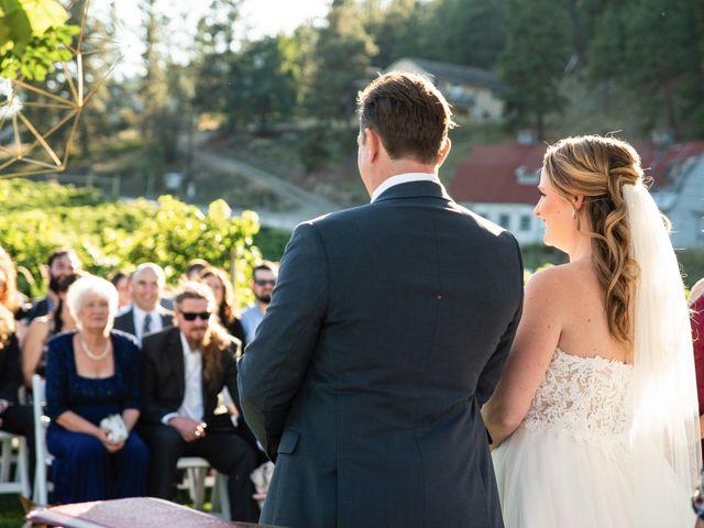 Jason and Shari's wedding in Okanagan Falls, British Columbia 42