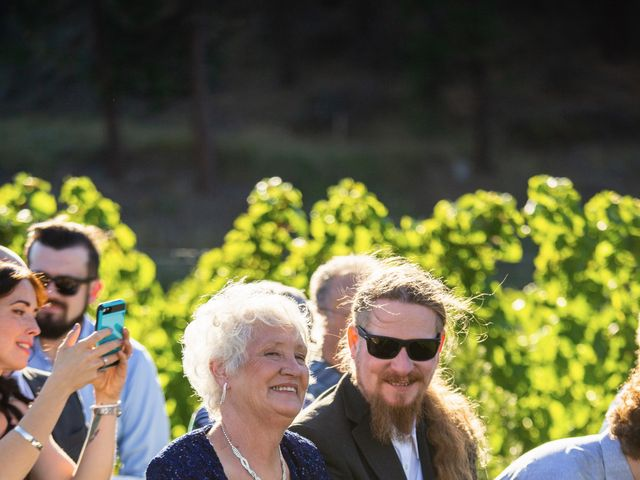 Jason and Shari's wedding in Okanagan Falls, British Columbia 43