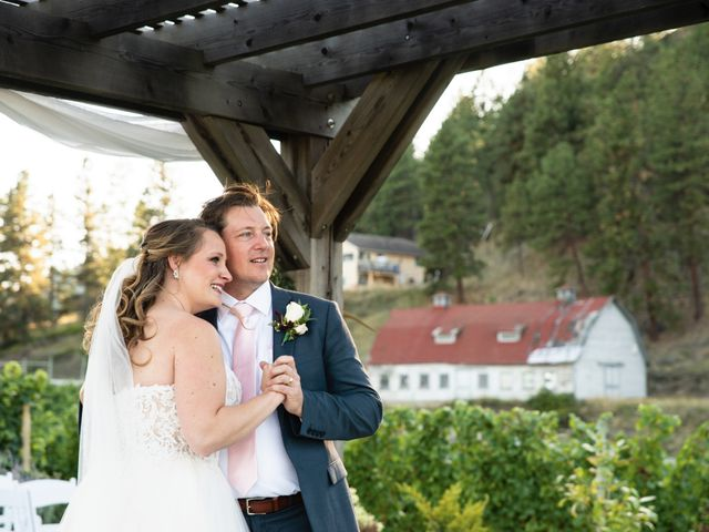 Jason and Shari's wedding in Okanagan Falls, British Columbia 55