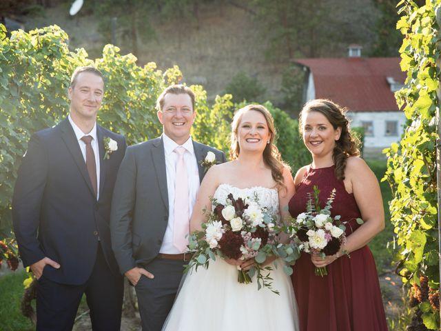 Jason and Shari's wedding in Okanagan Falls, British Columbia 57