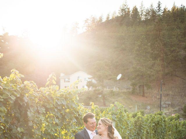 Jason and Shari's wedding in Okanagan Falls, British Columbia 70