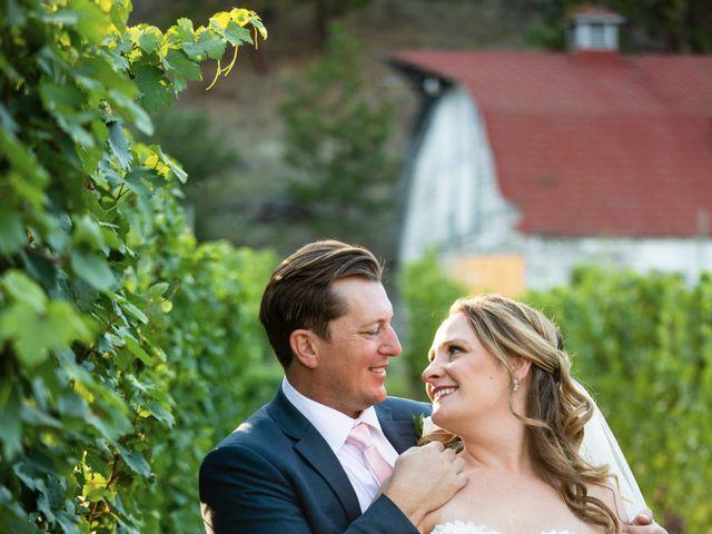 Jason and Shari's wedding in Okanagan Falls, British Columbia 1