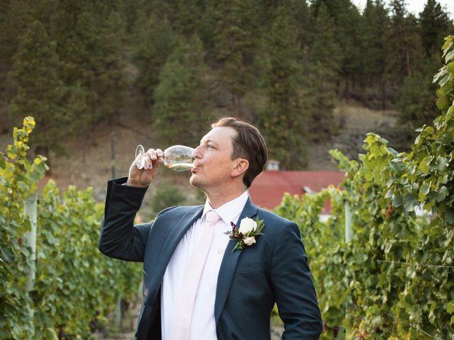 Jason and Shari's wedding in Okanagan Falls, British Columbia 75