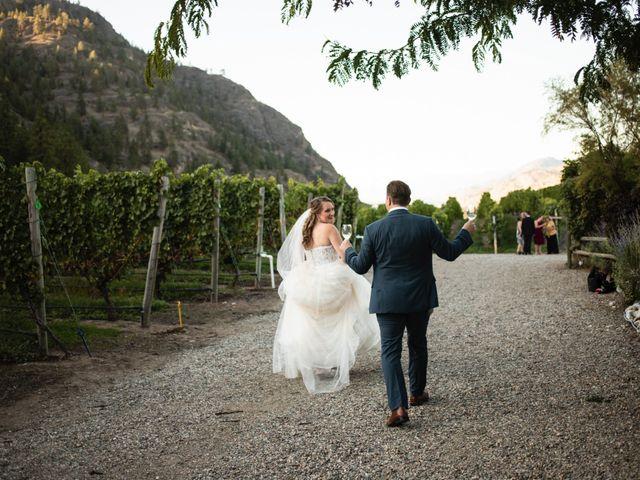 Jason and Shari's wedding in Okanagan Falls, British Columbia 77