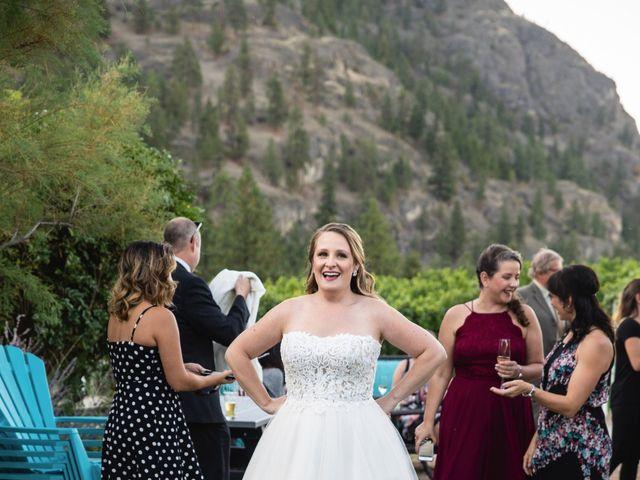 Jason and Shari's wedding in Okanagan Falls, British Columbia 90