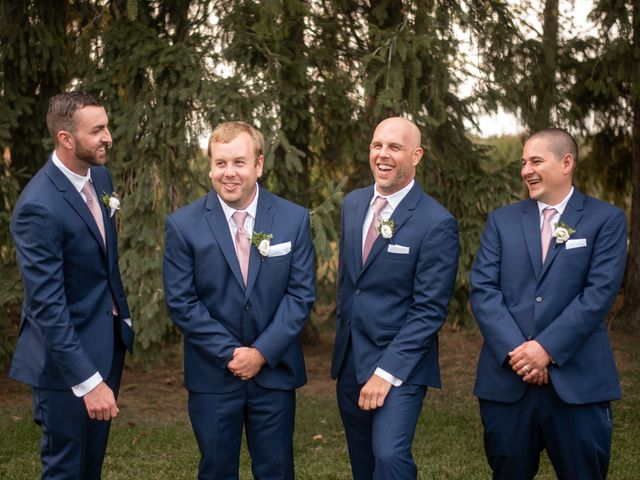 Kyle and Alison's wedding in Caledon, Ontario 42