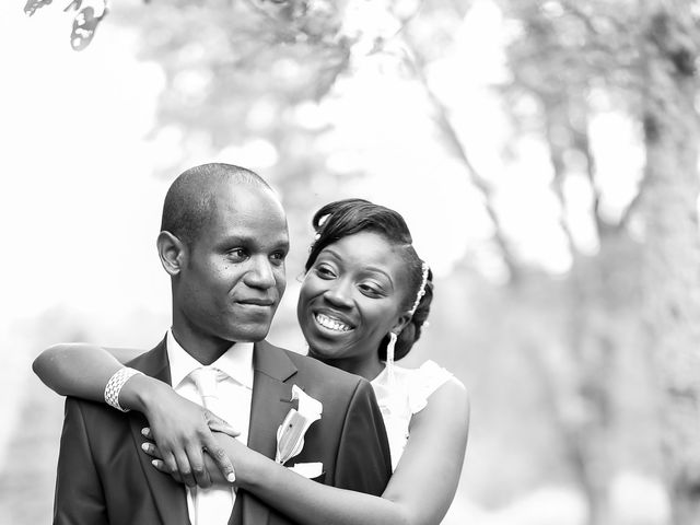 The wedding of Ketsia and Maxime