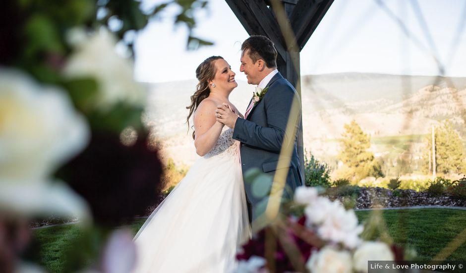 Jason and Shari's wedding in Okanagan Falls, British Columbia