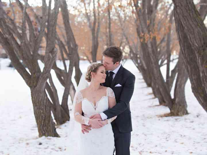 The wedding of Emily and Tony