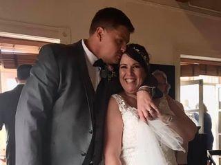 The wedding of Deborah  and Matt 2