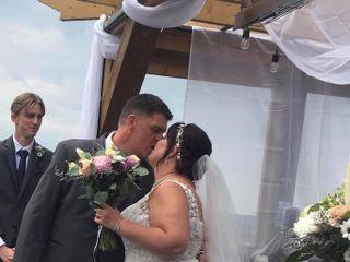 The wedding of Deborah  and Matt
