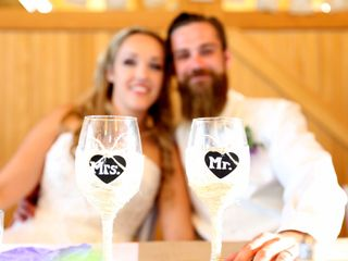 The wedding of Holly and Scott