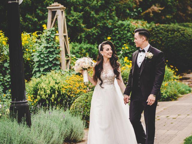 The wedding of Lina and Thomas