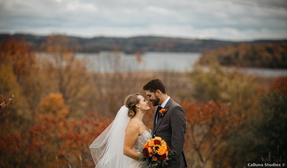 Thomas and Dena's wedding in Pontypool, Ontario