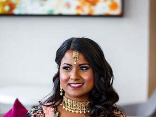 The wedding of Mithra and Kunal 1