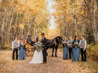 The wedding of Muranda and Brett
