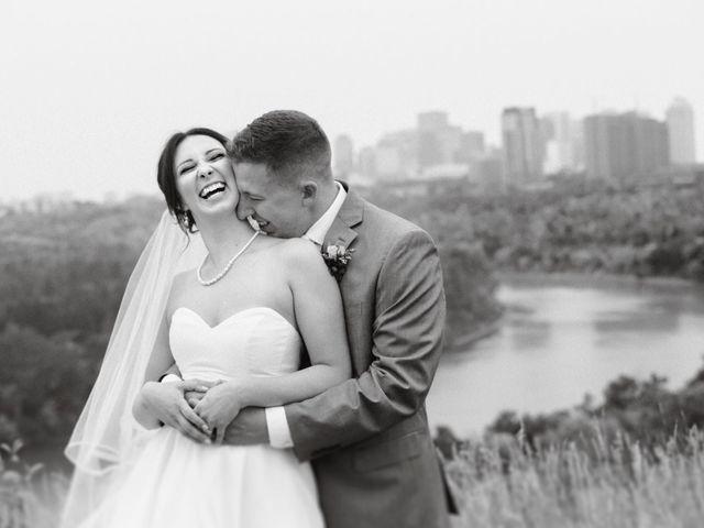 Cam and Avery's wedding in Edmonton, Alberta 1