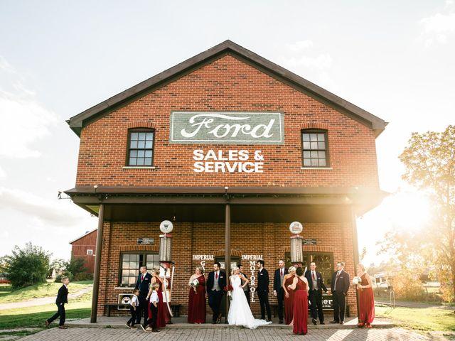 Vanessa and Ian's wedding in Burlington, Ontario 2