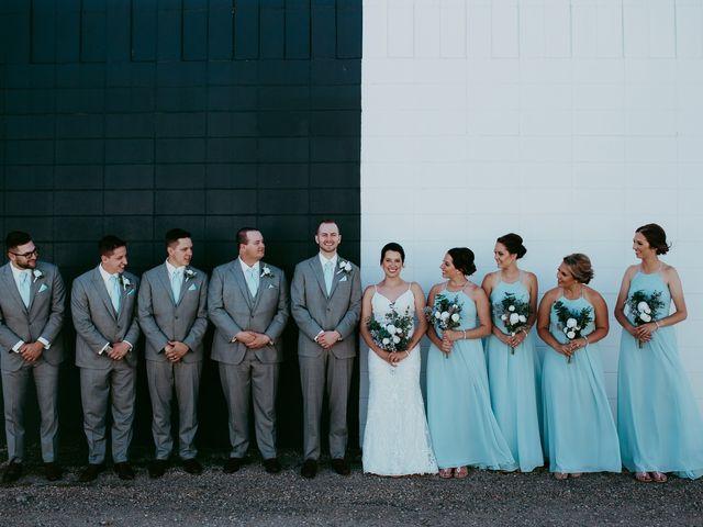 The wedding of Ashlyn and Eric