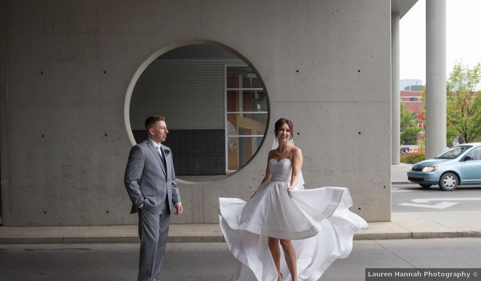 Cam and Avery's wedding in Edmonton, Alberta