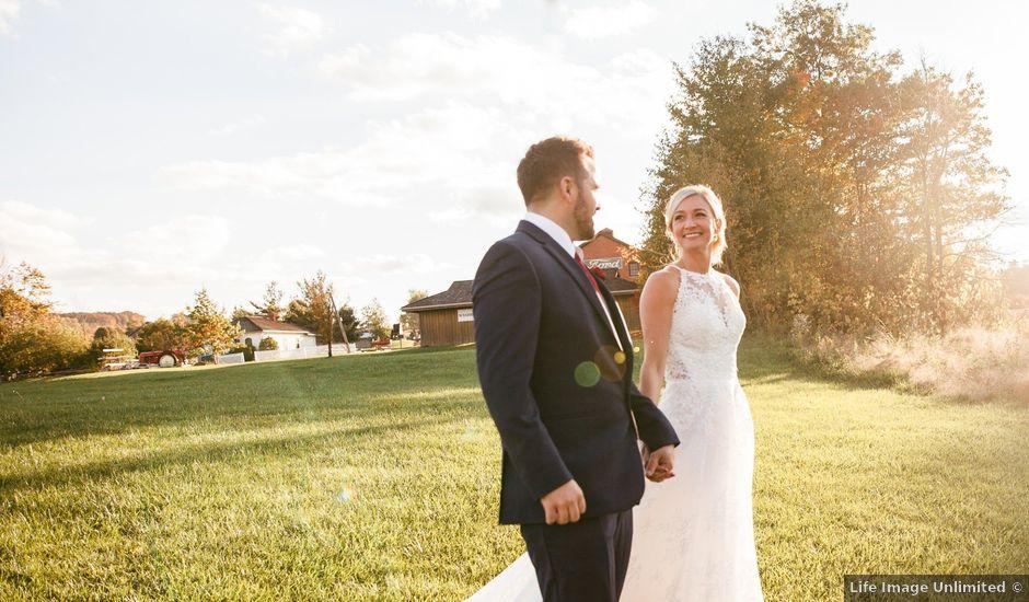 Vanessa and Ian's wedding in Burlington, Ontario