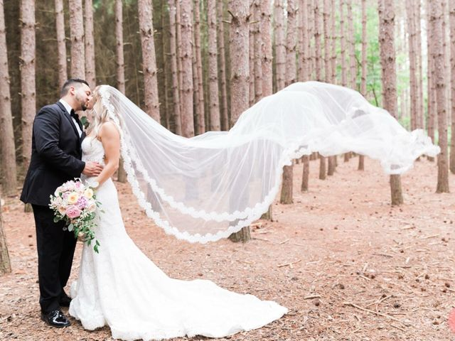 The wedding of Josephine and Jonathan