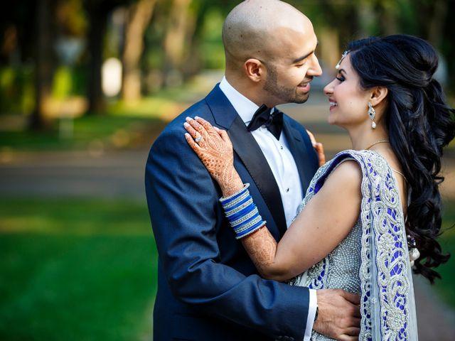 Rajat and Sheena's wedding in Edmonton, Alberta 2