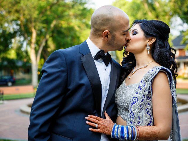 Rajat and Sheena's wedding in Edmonton, Alberta 43