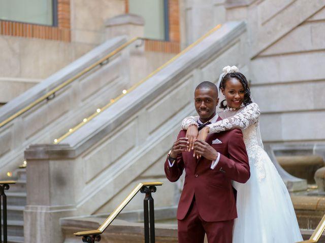 Amadou and Ramatoulaye's wedding in Montreal, Quebec 1